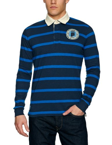 Pepe Jeans London PM540268 - Greenwood Men's Sweatshirt Electric Blue Small