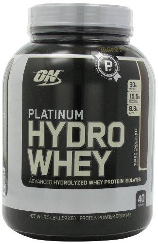 Optimum Nutrition  Platinum Hydro Whey, Turbo Chocolate, 3.5 Pound