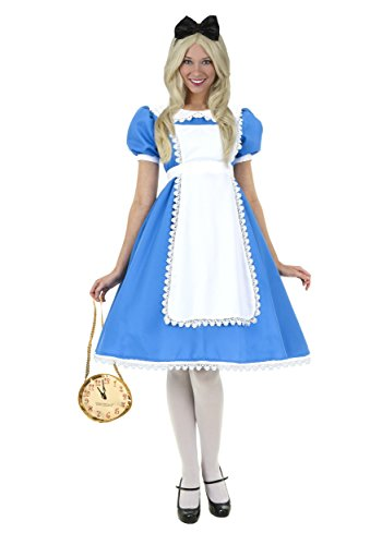 Halloween 2017 Disney Costumes Plus Size & Standard Women's Costume Characters - Women's Costume CharactersFun Costumes womens Plus Size Supreme Alice Costume