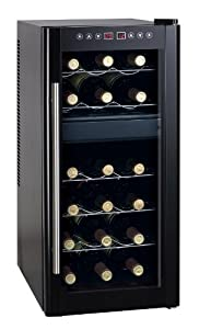 Spt Dual-Zone Thermo-Electric Wine Cooler with Heating, 18-Bottles