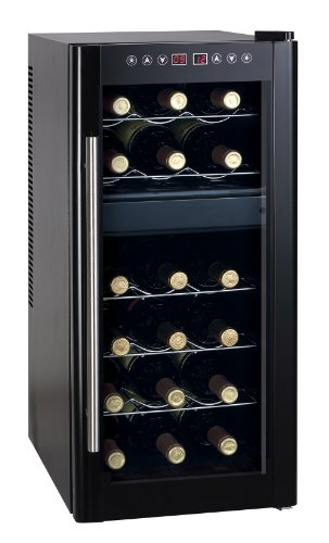 "Sunpentown 28.43"" Dual Zone Thermo-Electric Wine Cooler With Heating-Wc-1857Dh"