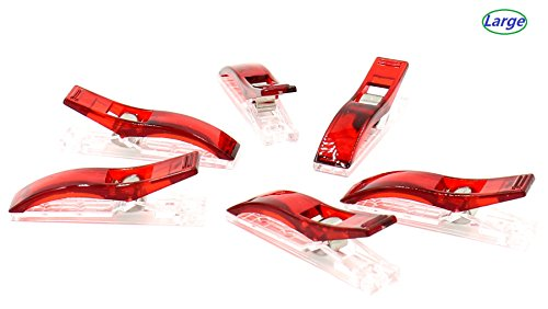 Why Choose iExcell Wonder Clips, Red, 100-Pack Or 50-Pack (Jumbo,50-Pack)
