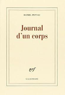 Journal d'un corps, Pennac, Daniel