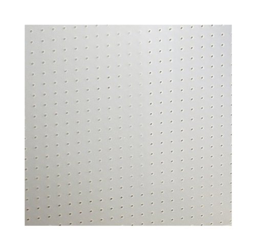 Triton Products DB-96 DuraBoard White Polypropylene Pegboard 48-Inch W by 96-Inch H by 1/4-Inch D with 9/32-Inch Hole Size and 1-Inch OC Hole Spacing