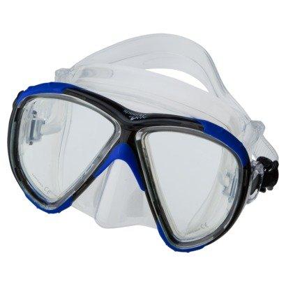 Speedo Dive Adult Explorer Mask (Blue/Black)