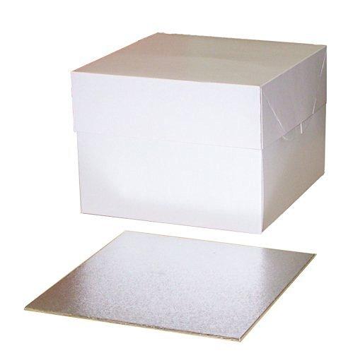 """10""""Cake Box con 3mm 10"""" Quadrati da torta"""
