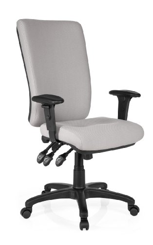 HJH Office 702150 Director's Office Chair Zenit High Grey