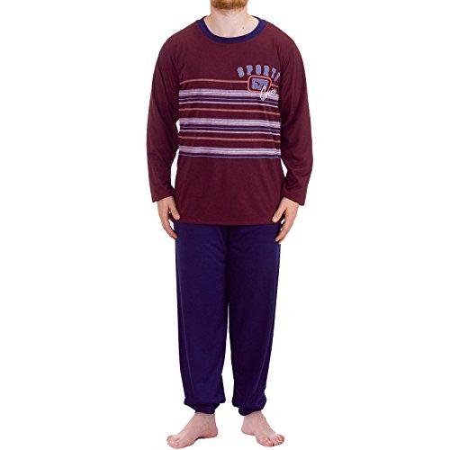 lucky-t-shirt-de-sport-a-manches-longues-pyjama-pyjama-rouge-xx-large