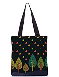 Snoogg Tree Cool Poly Canvas Tote Bag