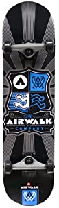 Buy Airwalk Uncontested Complete Skateboard, Silver by Airwalk