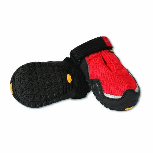 Ruffwear Bark'n Boots GripTrex Hundeschuhe, rot, S
