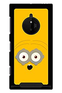 Caseque Blowed Minion Back Shell Case Cover for Nokia Lumia 830