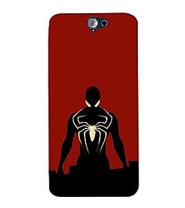 EPICCASE Black Spidey Mobile Back Case Cover For HTC One A9 (Designer Case)