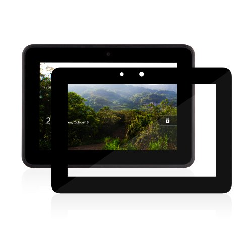 Moshi iVisor XT (HD clear) No-Bubble Screen Protector for Kindle Fire HD 7""