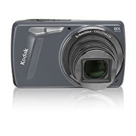 Kodak EasyShare M580 14MP Digital Camera with 8x Wide Angle Optical Zoom and 3.0 Inch LCD (Blue)