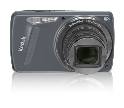 Kodak EasyShare M580 14 MP Digital Camera with 8x Wide Angle Optical Zoom and 3.0 Inch LCD (Blue)