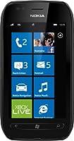 Nokia Lumia 710 Smartphone - Ecran tactile 9,4 cm 3,7 pouces - Appareil photo 5 mégapixels - Windows Phone Mango OS - Noir
