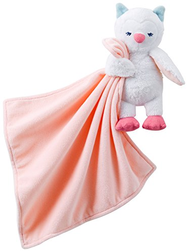 Carter's Girls Owl Snuggle Buddy Security Blanket
