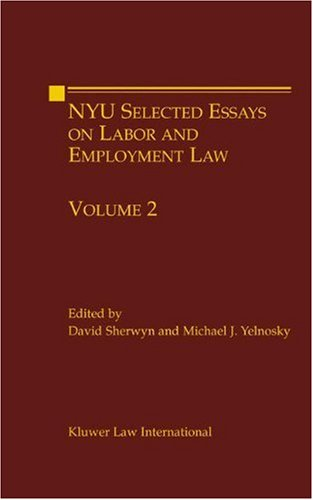 employment law 5 essay Related essays: employment law is made up a great employment law is made up a great many common law rulings, statutes, administrative rules and legislation.