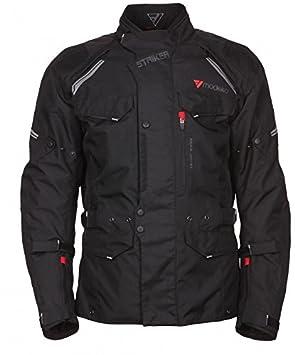 Modeka striker veste en tissu noir taille m :