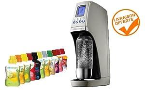 Sur La Table Sodastream MACHINE SODA SODASTREAM REVOLUTION GRISE: Amazon.fr: Cuisine & Maison