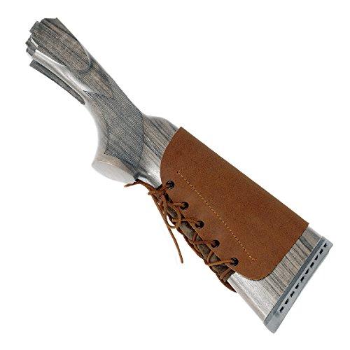 KONUS #8215 guanciale appoggia guancia in PELLE BUTTERO per fucile e carabina