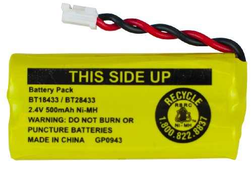 VTech Battery for use with LS6115, LS6117, LS6125, LS6215, LS6225, LS6217 Series