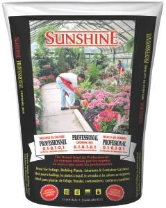 Sungro Horticulture Sugrpg1.5 1-1/2-Cubic Feet Sungro Sunshine Professional Growing Mix For Plants (Discontinued By Manufacturer)