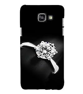 EPICCASE Diamond Ring Mobile Back Case Cover For Samsung Galaxy A5 (2016) (Designer Case)