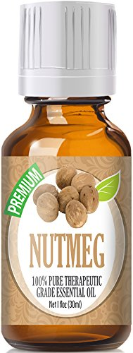 Nutmeg (30ml) 100% Pure, Best Therapeutic Grade Essential Oil - 30ml / 1 (oz) Ounces