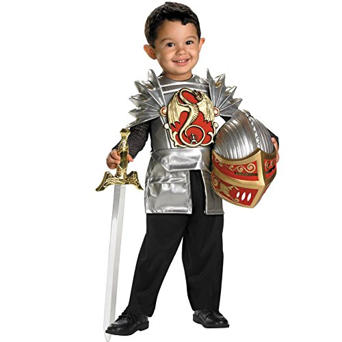 Deluxe Knight of the Dragon Toddler Costume