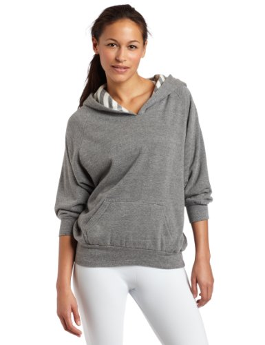 Jillian Michaels Collection by K-SWISS Women's Flash Dance Hoody Silver- XL