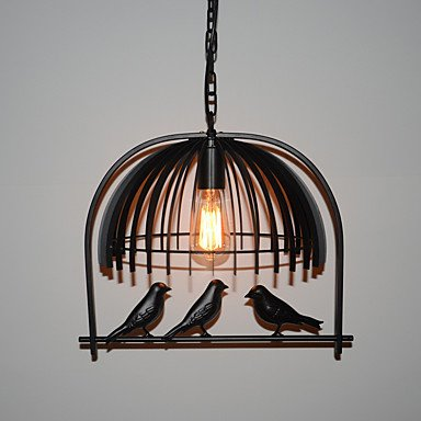 CHXDD Vintage American Industrial Bird Chandelier Lamp Restaurant Bar Cafe Minimalist Personality Iron Lamps