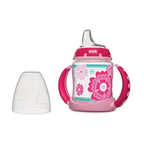Nuk Learner Cup Girls Lace Design 6+ Months 5Oz front-924616