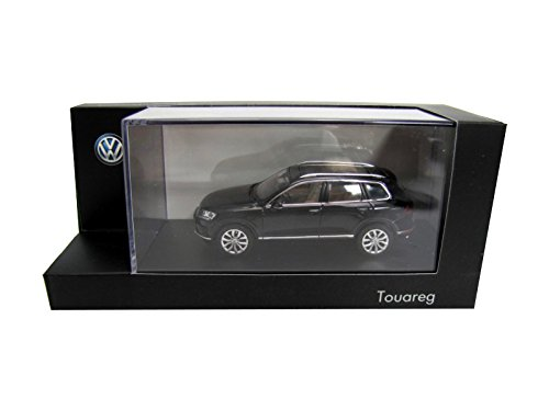 VW-Touareg-7P-Facelift-143-Deep-Black-Perleffekt-2015-Modellauto-Herpa