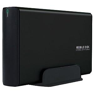 玄人志向 HDDケース 外付け USB3.0 USB2.0 3.5型 SATA接続 ハードディスク GW3.5AA-SUP3/MB