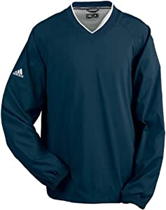 Adidas Golf A47 Mens ClimaProof V-Neck Wind Shirt by adidas