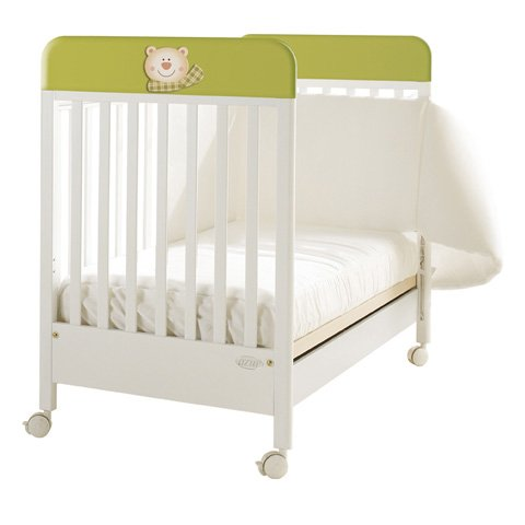 Best Deal Baby Wooden Cot Bed Crib Balocco Sole Azur Bianco ...