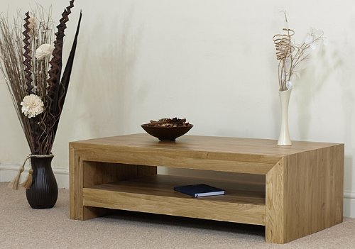 NEO SOLID OAK COFFEE TABLE