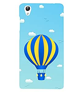 Hot Air Balloon 3D Hard Polycarbonate Designer Back Case Cover for vivo Y51 :: Vivo Y51L