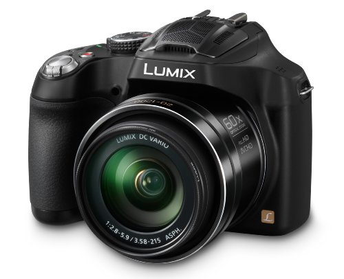 Cheap Panasonic LUMIX DMC-FZ70 16.1 MP Digital Camera with 60x Optical Image Stabilized Zoom and 3-I...