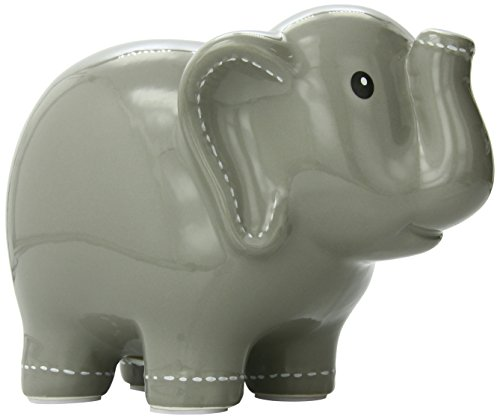 Child To Cherish Stitched Bank, Elephant - 1