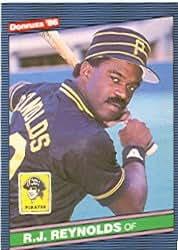 1986 Donruss #552 R.J. Reynolds