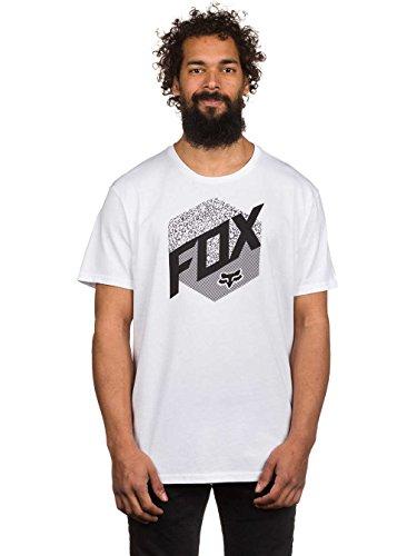 T-Shirt Fox Kast Optic Bianco (M , Bianco)