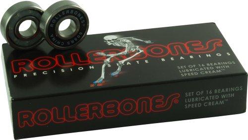 Rollerbones Bearings 8mm 16 Pack Bones Roller Derby Skate Bearings