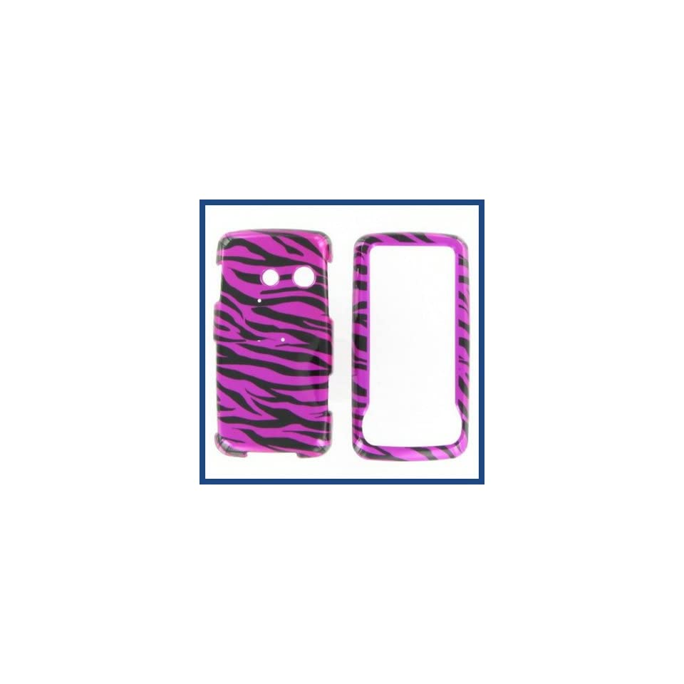 LG LN510 Rumor Touch Zebra on Hot Pink Hot Pink/Black Protective Case