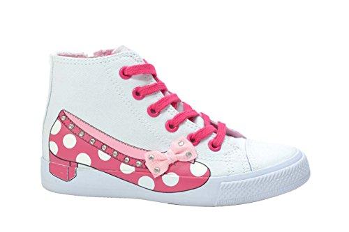 Lulu' bambino Sneakers scarpe bambina bianco DOLLY 31