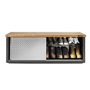 Gladiator GarageWorks GAGB54SBYG Storage Bench CHECK PRICE