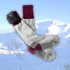 "Grey ""Lectra"" Heated Socks LRG [Misc.]"