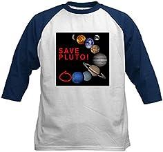 CafePress Kids Baseball Jersey - Save Pluto Baseball Jersey